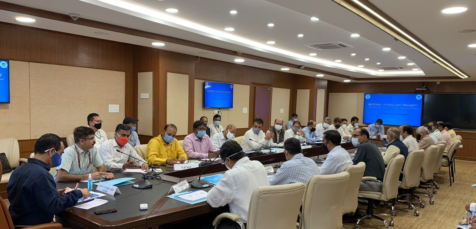 3rd Zonal Level review Meeting for South Zone Implementing Agencies under National Hydrology Project.