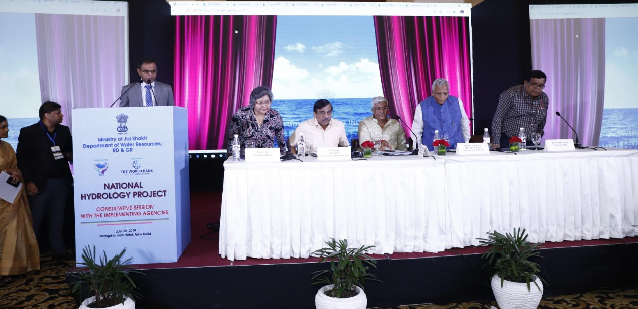 Launching of India WRIS portal for Water Resources Information System under NHP