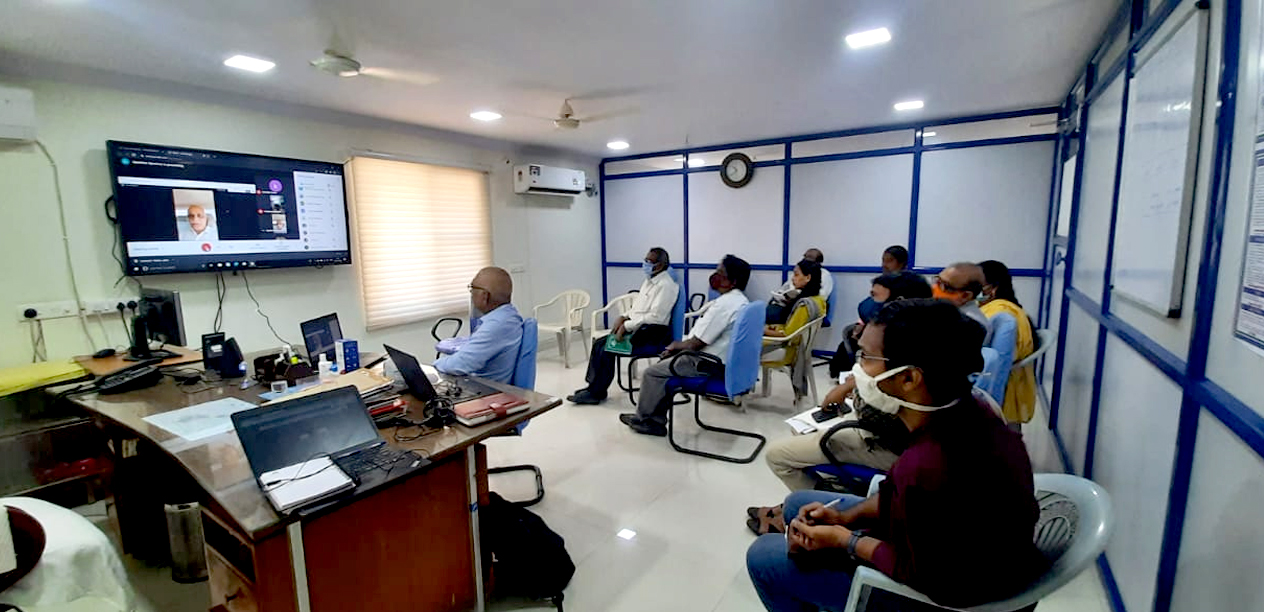 One-day online in-house training programme on