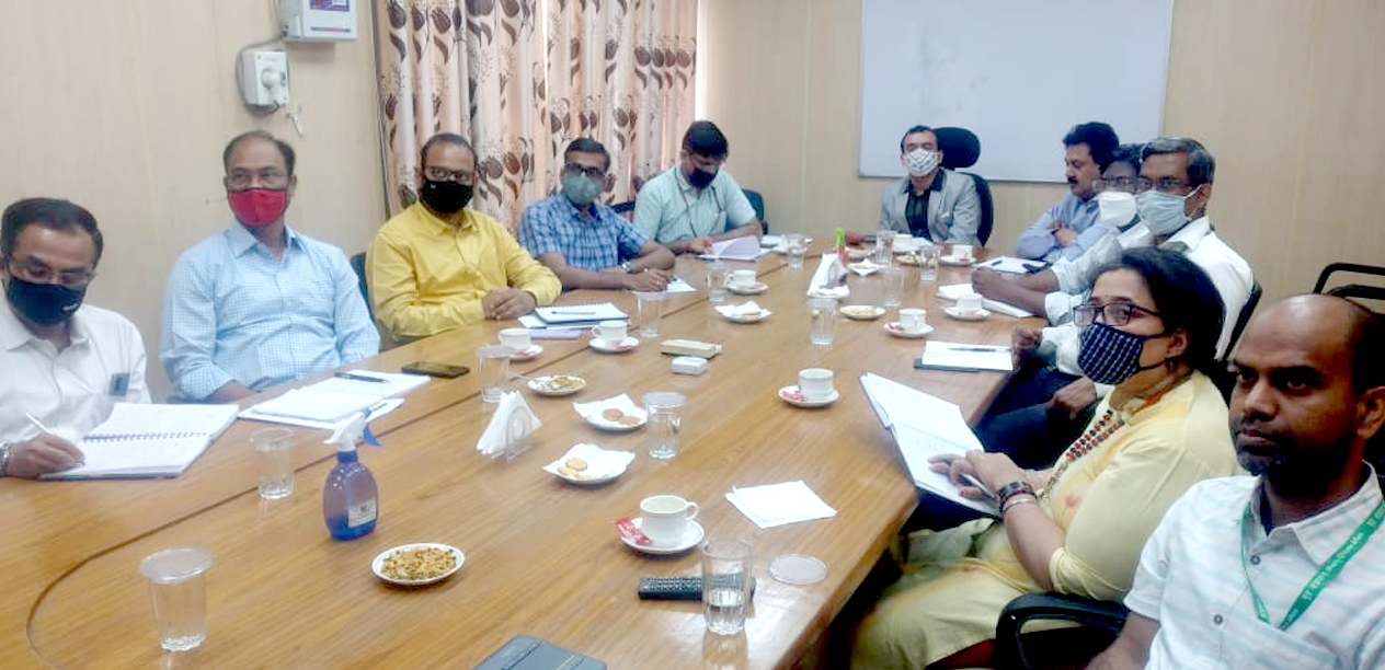 Shri Subodh Yadav, Joint Secretary (A, IC & GW) MoJS has reviewed the Flood Early Warning System for Godavari and Tapi River Basins developed by the National Remote Sensing Centre under National Hydrology Project.