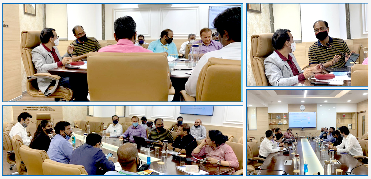NHP review meeting was held by Joint secretary (A,IC&GW) Shri. Subodh Yadav Ji where he discussed the actionable points of last meeting with SJCs & TAMC experts