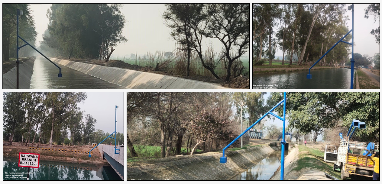 First of kind successful initiative under NHP towards Data as a Service (DaaS)  model  for capturing real time water level of canal distribution network and preparation of rating curves- Implementing agency : Haryana